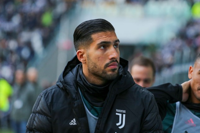 Juventus misfit Emre Can has been heavily linked with Manchester United