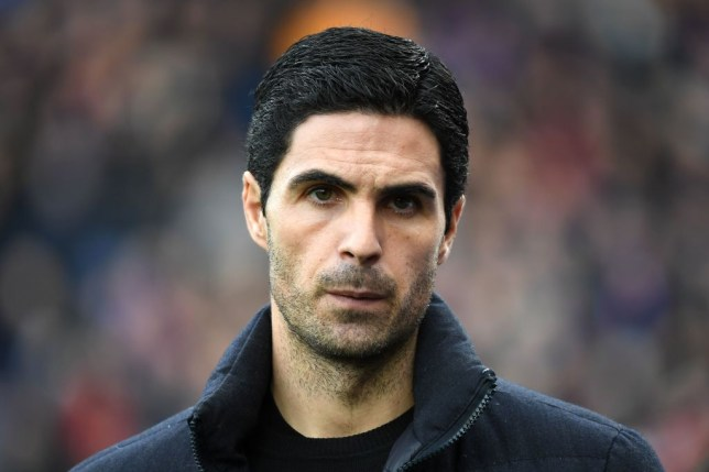 Mikel Arteta was not upbeat over Arsenal's chances of signing a new player