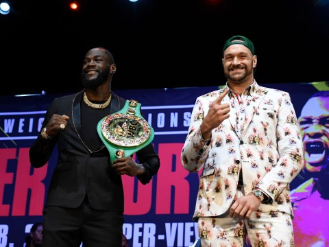 Tyson Fury masturbating 'seven times a day' to prepare for Deontay Wilder fight