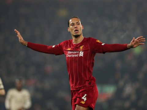 Van Dijk disagrees with decision to rule out Firmino goal vs Manchester United