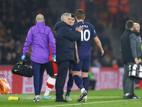 Jose Mourinho provides Harry Kane injury update after Tottenham's defeat to Southampton