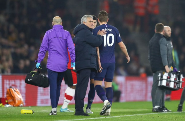 Jose Mourinho fears the worst after Tottenham star Harry Kane sustained a hamstring injury against Southampton in the Premier League