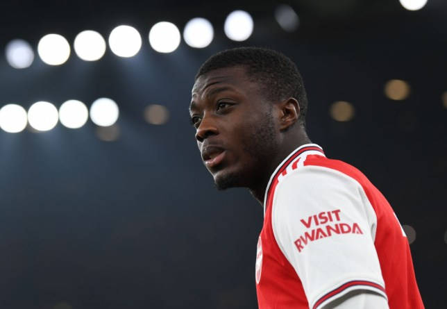 Arsenal smashed their transfer record to sign Nicolas Pepe from Lille last summer