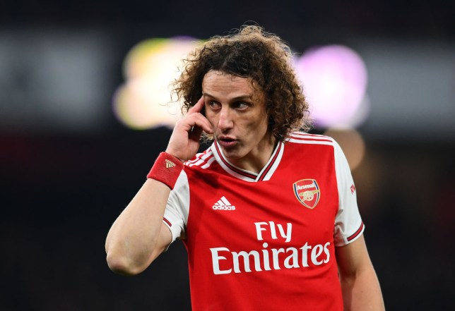 Arsenal star David Luiz was Martin Keown's man of the match against Manchester United