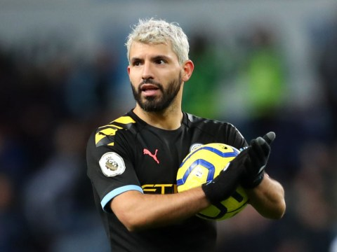 Manchester City star Sergio Aguero sends warning to Alan Shearer after breaking Thierry Henry's record