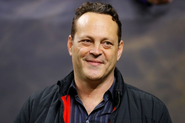 Vince Vaughn is left hanging by Donald Trump as he awkwardly tries and fails to high five US president