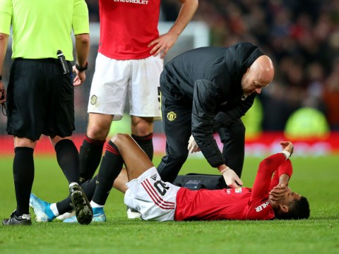 Rio Ferdinand reacts to Marcus Rashford injury ahead of Manchester United's trip to Liverpool