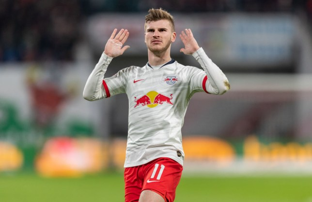Chelsea face transfer battle with Liverpool for Timo Werner