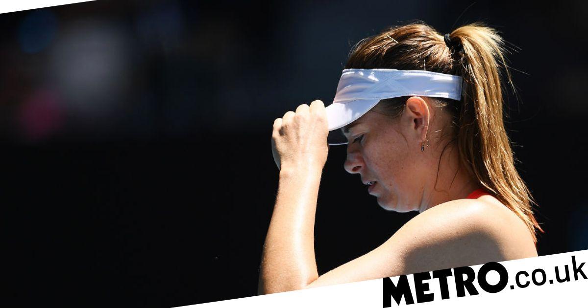 Maria Sharapova's future uncertain after huge rankings drop following Australian Open defeat - metro