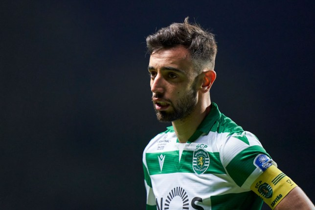 Bruno Fernandes completed his move from Sporting Lisbon to Man Utd on Thursday