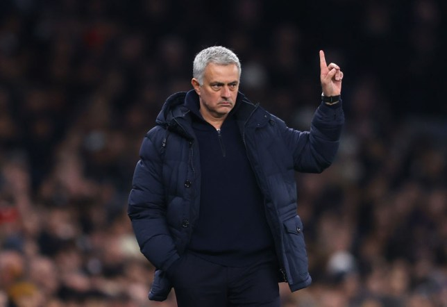 Tottenham Hotspur manager and former Manchester United boss Jose Mourinho reacts to his side's win over Norwich
