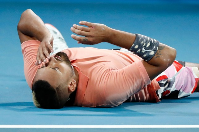 Nick Kyrgios booked his place in the fourth round of the Australan Open after beating Karen Khachanov in five sets