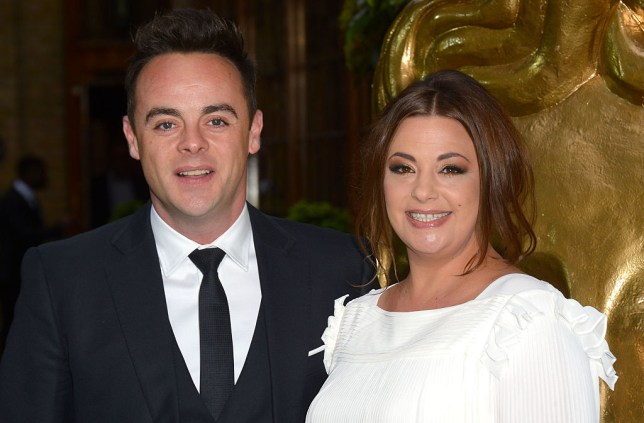 Ant McPartlin and ex-wife Lisa Armstrong at the British Academy Television Craft Awards in 2015