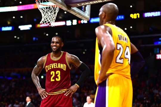 LeBron James says Kobe Bryant played a huge role in his career