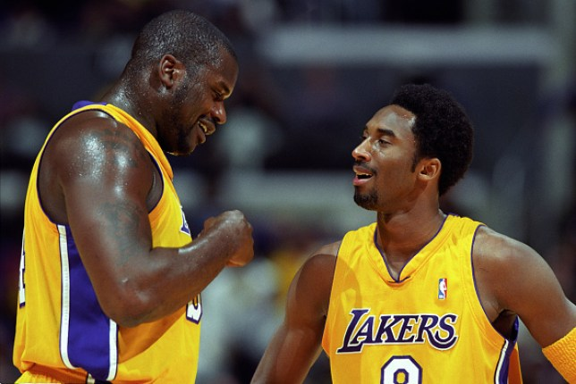 Shaquille O'Neal and Kobe Bryant were teammates together with the LA Lakers