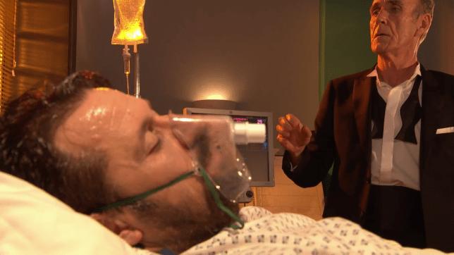 Edward and Tony Hutchinson in Hollyoaks