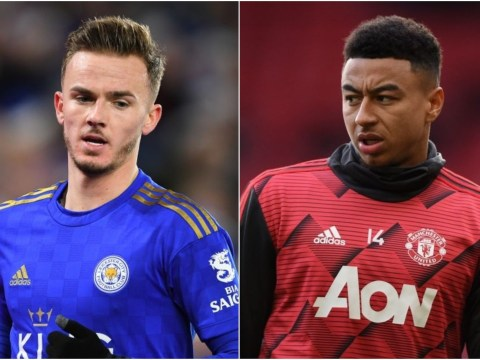 Manchester United offer Jesse Lingard plus £45m to sign James Maddison from Leicester City