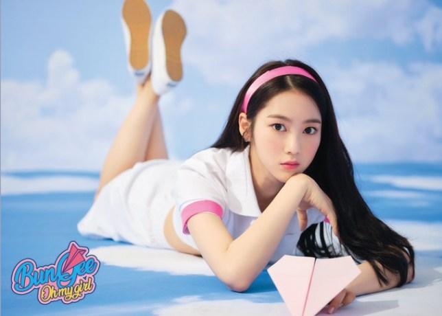 Jiho of Oh My Girl