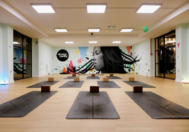 Main fitness studio