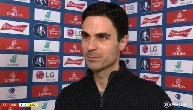 Mikel Arteta says Arsenal remain in the market for a new defender