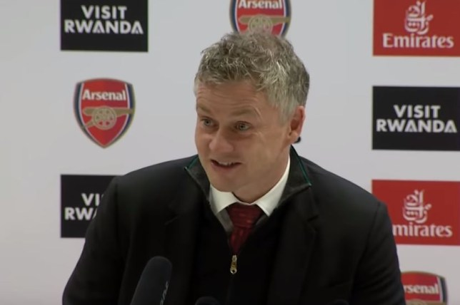 Ole Gunnar Solskjaer praised Nemanja Matic after Manchester United's defeat to Arsenal