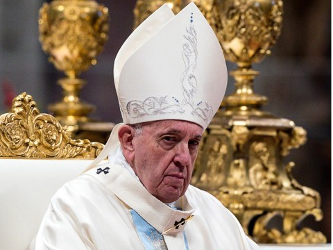 Pope Francis apologises for slapping well-wisher's hand