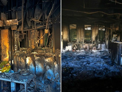 Inside the burned wreckage of US embassy after Iraq protest