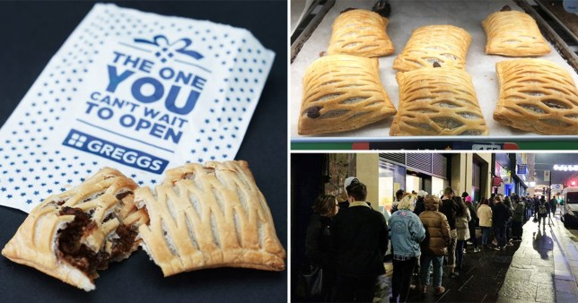 Huge Queues For Greggs Vegan Steak Bake That Looks Like Cat