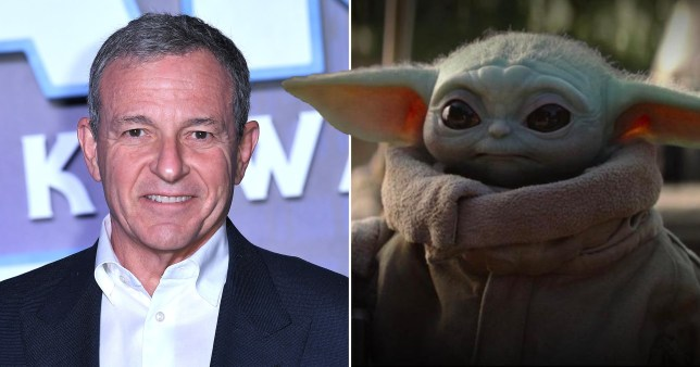Bob Iger The Mandalorian