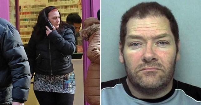 Karen Matthews, 44, has broken up with her paedophile fiancé Paul Saunders (Picture: W8MEDIA)