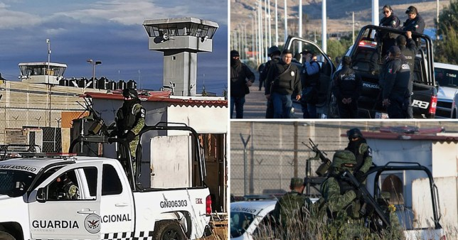 Jail in Mexico where a football match turned violent