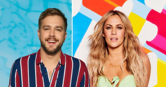Iain Sterling and Caroline Flack