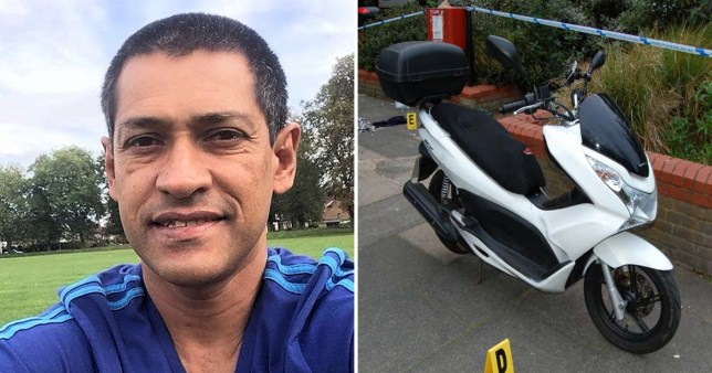 Iderval da Silva was beaten to death for his scooter