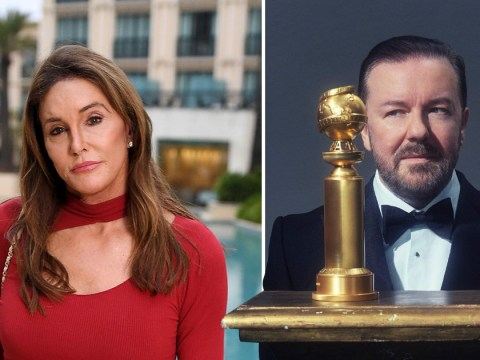 Ricky Gervais insists he's not transphobic after Caitlyn Jenner joke