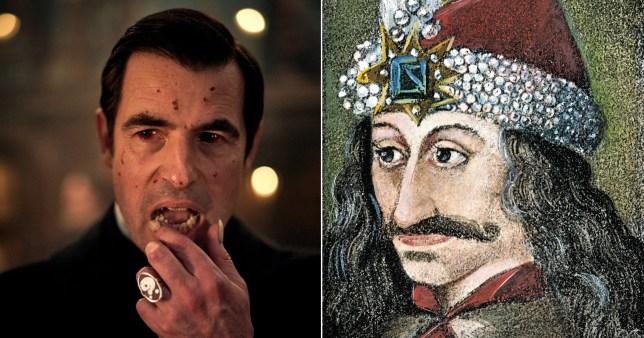 Dracula BBC Count Dracula real-l;ife inspiration Vlad the Impaler
