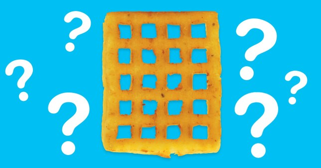 Birds Eye say we've been cooking potato waffles all wrong