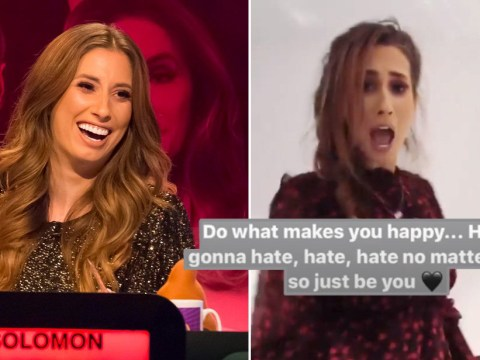 Stacey Solomon hits back at trolls who called her 'stupid' on Big Fat Quiz Of The Decade – and she just doesn't care