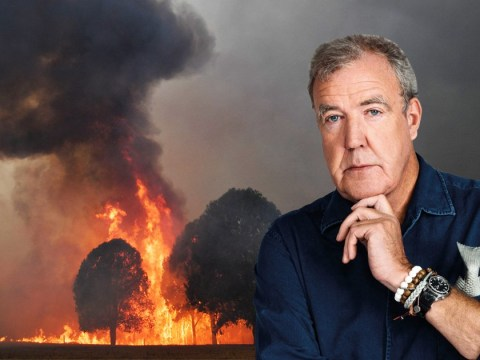 Jeremy Clarkson slammed for sickening comments claiming 'God is embarrassed' by Australia 'because he's decided to set fire to it'