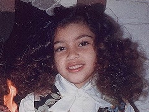 Kim Kardashian looks identical to her daughter North in amazing throwback snap