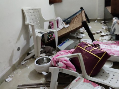 Muslim homes 'ransacked by Indian police' amid crackdown on protests