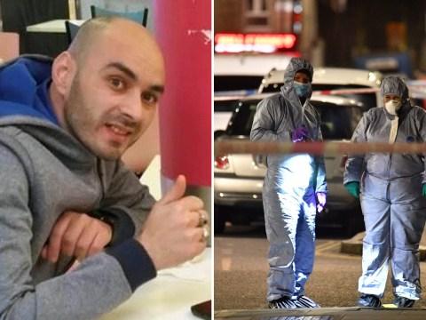Manhunt for van driver after fatal 'roadrage' stabbing of Deliveroo rider
