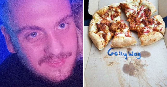 Domino's supervisor sacked for writing 'golliwog' on black delivery driver's box