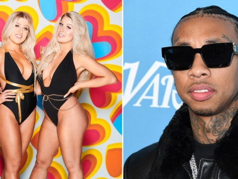 Winter Love Island twin Eve reveals Kylie Jenner's ex Tyga slid into her DMs