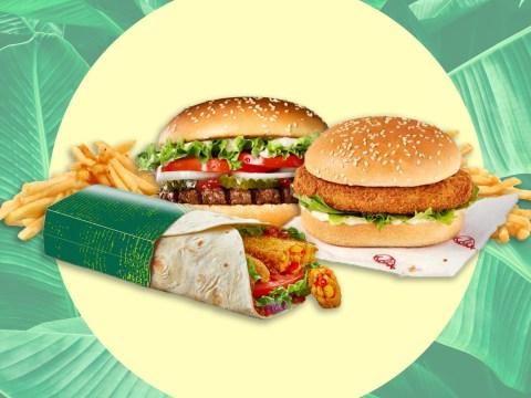 What Burger King, McDonald's and KFC menu items are vegan?