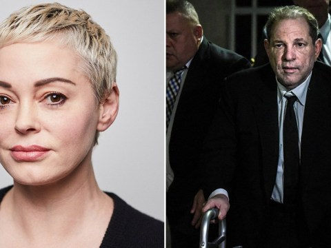 Rose McGowan admits she feels a 'thrill' knowing that Harvey Weinstein might be 'scared' about rape charges