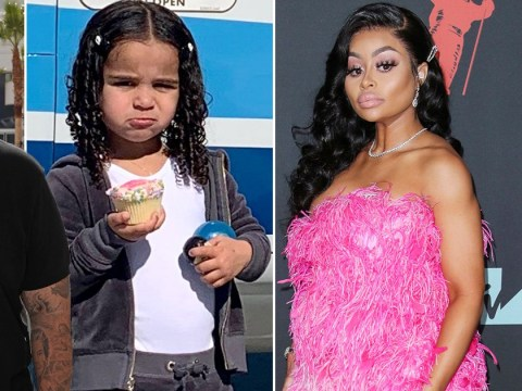 Blac Chyna denies Rob Kardashian's claims she 'takes drugs and acts inappropriately' around daughter Dream as he files for primary custody