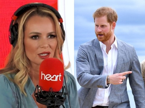 Amanda Holden backs Harry and Meghan in royal bombshell debate: 'Diana would have done the same'