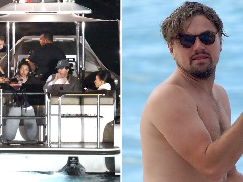 Leonardo DiCaprio 'saves man who fell overboard' during Caribbean holiday with girlfriend