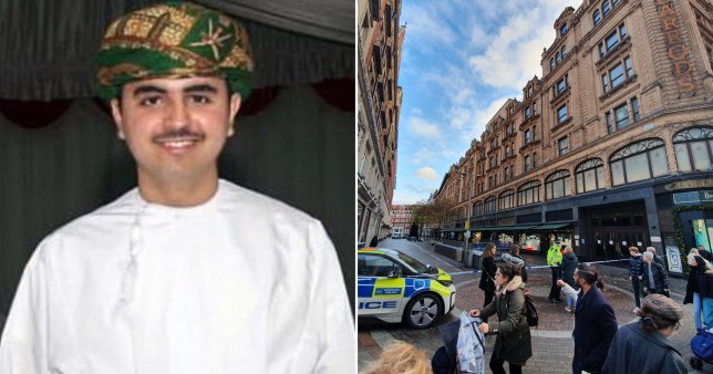 Man charged with murder of Omani student stabbed outside Harrods