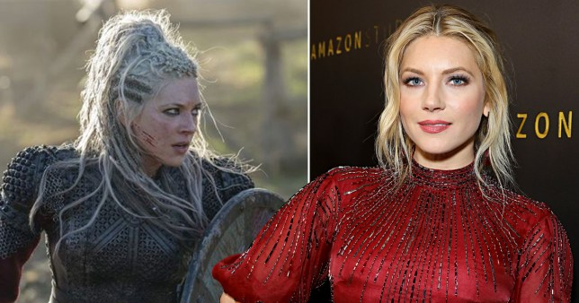 Vikings star Katheryn Winnick as Lagertha